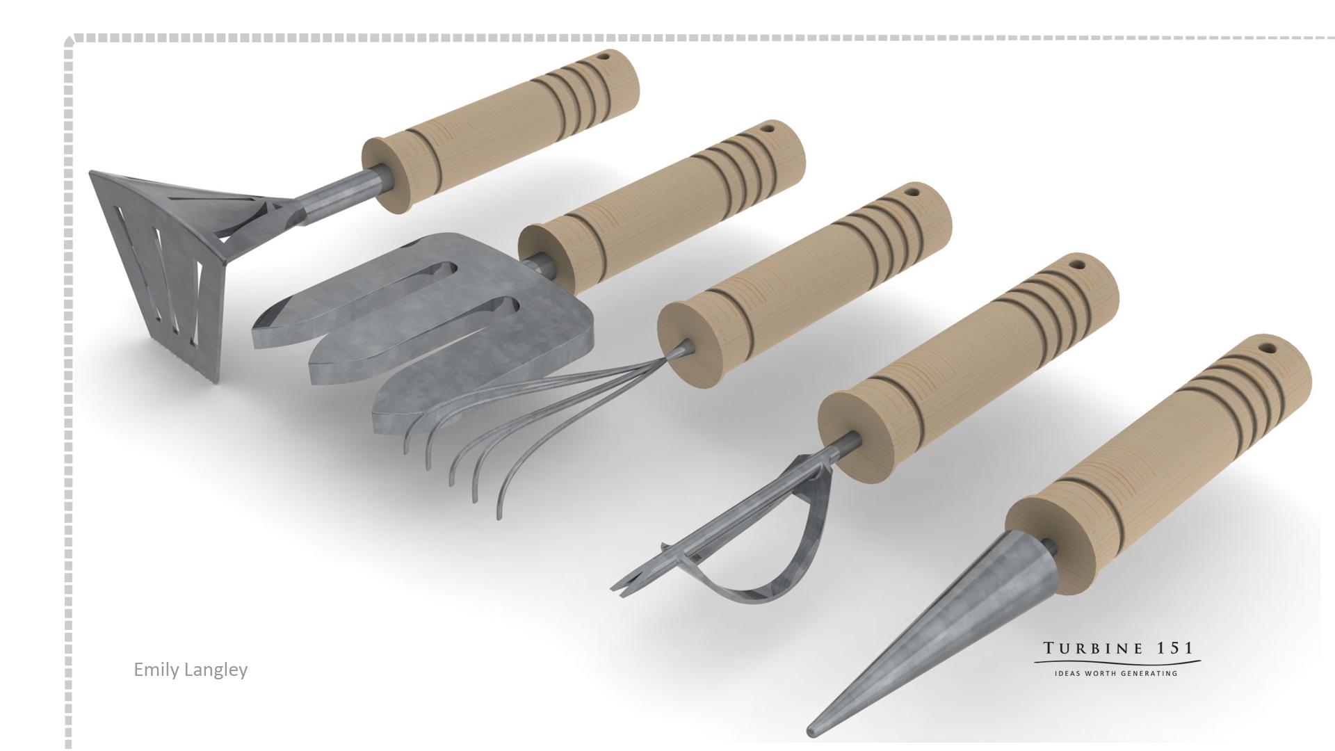 Final garden tool render elangley 39 s blog for Garden equipment tools